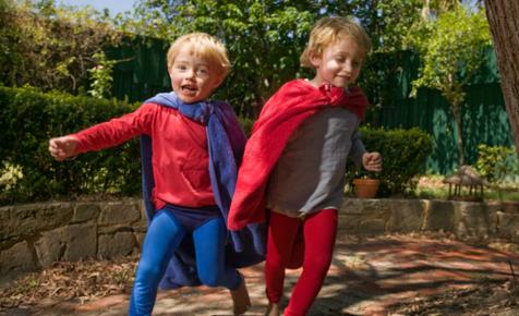 Superhero-chasey