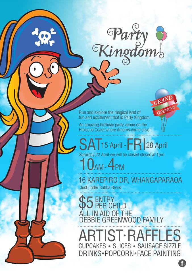 Party Kingdom Grand Opening & fundraiser for the Debbie Greenwood family